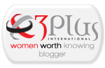 3plus blogger badge Alliances, Partners and Blogging Collaborators