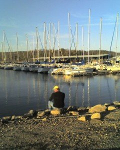 Rob reflecting 2008 sailing events Lake Perry2 240x300 Smooth Transitions for Your Career