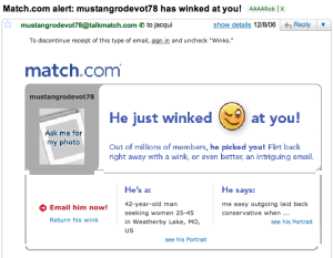 rob winked mini 300x233 Your Job Search: A Love Story