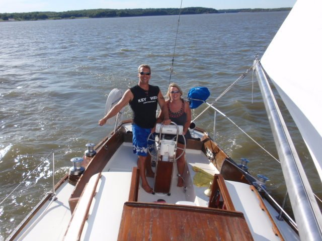 sailing Rob and Jacqui1 Charting Your Goals: Be Sure to Adjust for Drift
