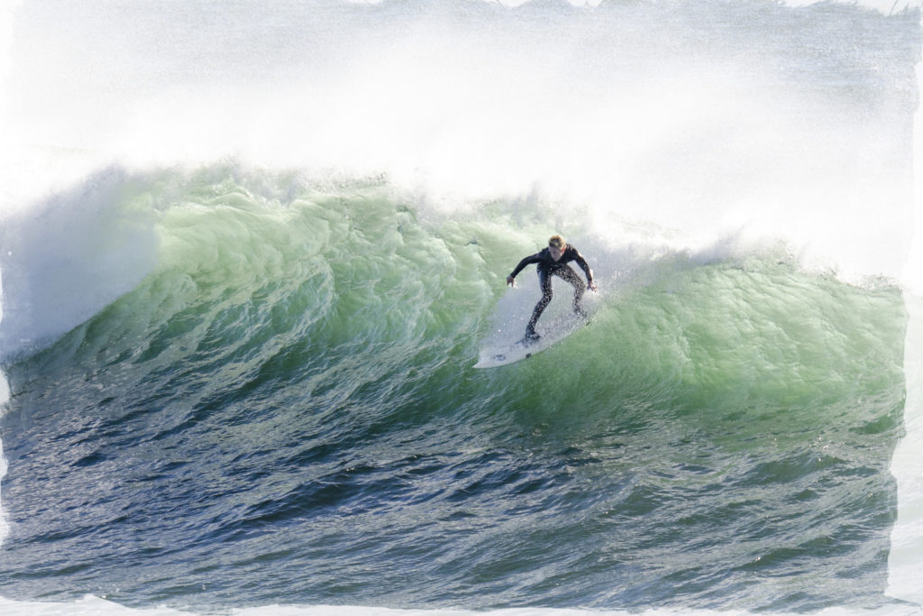 Jump on your career surfboard + ride the wave
